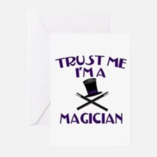 Trust Me I'm a Magician Greeting Cards (Pk of 10)