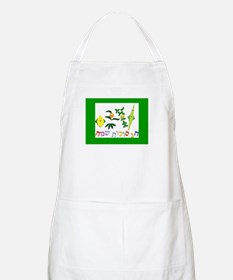 A Happy Sukkot BBQ Apron