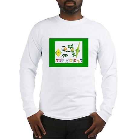 A Happy Sukkot Long Sleeve T-Shirt