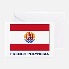 French Polynesia Flag Stuff Greeting Cards (Packag