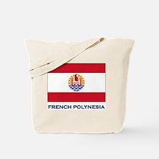 French Polynesia Flag Stuff Tote Bag