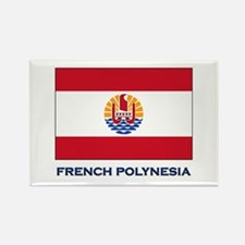 French Polynesia Flag Stuff Rectangle Magnet
