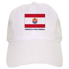 French Polynesia Flag Stuff Baseball Cap