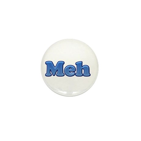Meh 1.png Mini Button (100 pack)