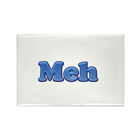 Meh 1.png Rectangle Magnet (100 pack)
