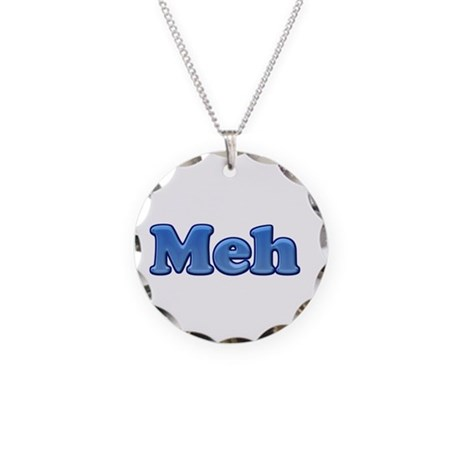 Meh 1.png Necklace Circle Charm