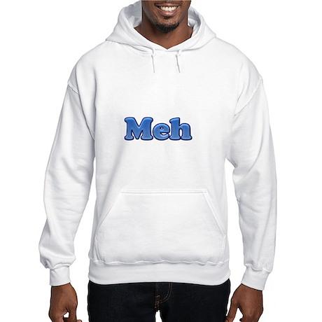 Meh 1.png Hooded Sweatshirt