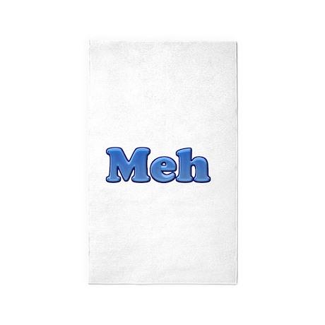 Meh 1.png 3'x5' Area Rug