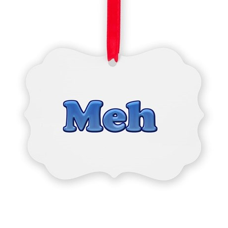 Meh 1.png Picture Ornament