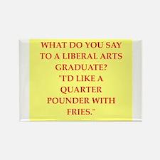liberal arts Rectangle Magnet