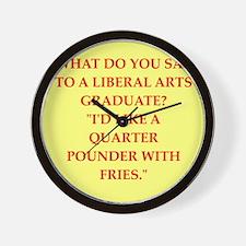 liberal arts Wall Clock