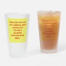 liberal arts Drinking Glass