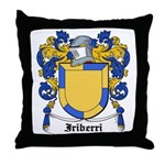 Iriberri Coat of Arms Throw Pillow