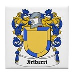 Iriberri Coat of Arms Tile Coaster