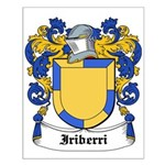Iriberri Coat of Arms Small Poster