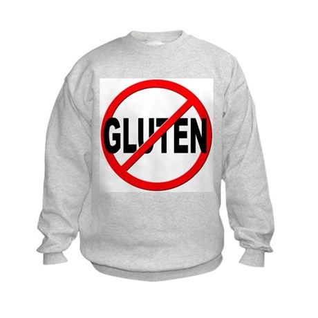 Anti / No Gluten Kids Sweatshirt
