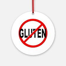 Anti / No Gluten Ornament (Round)