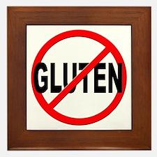 Anti / No Gluten Framed Tile