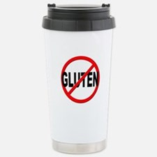 Anti / No Gluten Stainless Steel Travel Mug