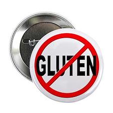 """Anti / No Gluten 2.25"""" Button"""