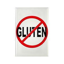 Anti / No Gluten Rectangle Magnet