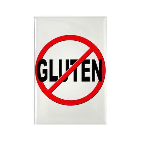 Anti / No Gluten Rectangle Magnet (100 pack)