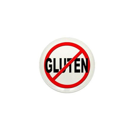 Anti / No Gluten Mini Button (100 pack)