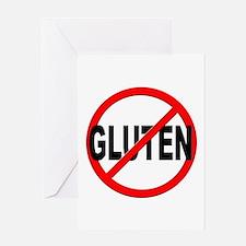 Anti / No Gluten Greeting Card