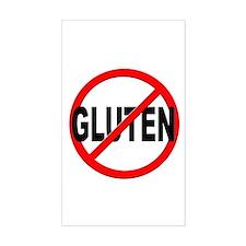 Anti / No Gluten Decal