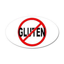 Anti / No Gluten Wall Decal