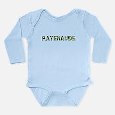 Patenaude, Vintage Camo, Long Sleeve Infant Bodysu