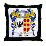 Guirao Coat of Arms Throw Pillow