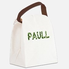 Paull, Vintage Camo, Canvas Lunch Bag