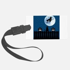 Flying Witch Luggage Tag