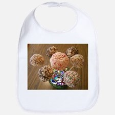 Rice Treat Ball Centerpieces Bib