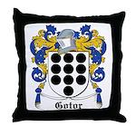 Gotor Coat of Arms Throw Pillow