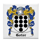 Gotor Coat of Arms Tile Coaster