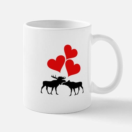Hearts & Moose Mugs