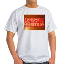 Rice Treat Merry Christmas Centerpiece T-Shirt