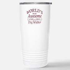Awesome Dog Walker Travel Mug