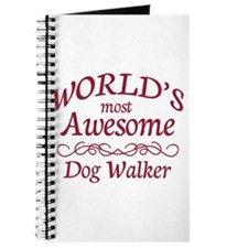 Awesome Dog Walker Journal