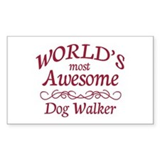 Awesome Dog Walker Decal