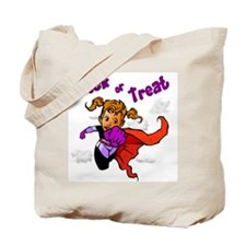 Girl Superhero Trick or Treat Bag