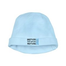 Brother Mother Smile baby hat