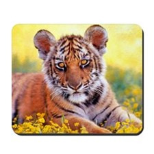 Tiger Baby Cub Mousepad