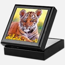 Tiger Baby Cub Keepsake Box