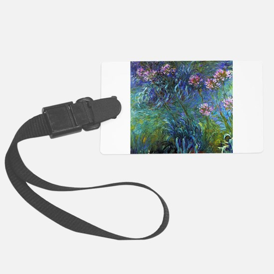 Claude Monet Jewelry Lilies Luggage Tag