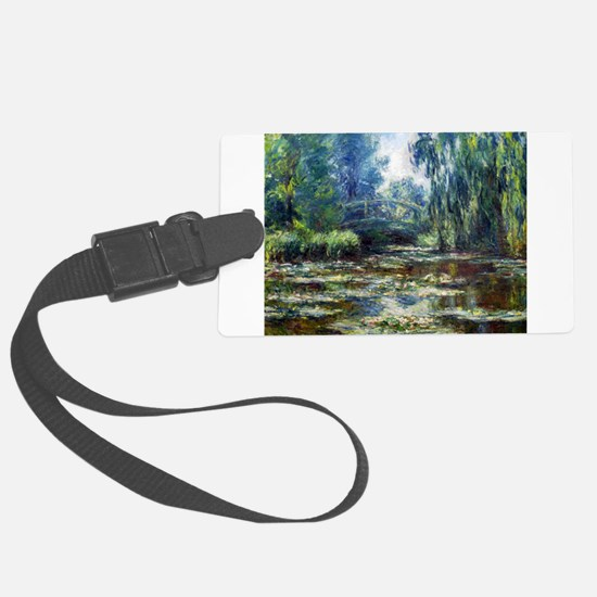 Cool Claude monet Luggage Tag