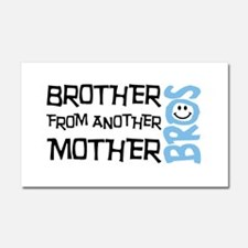 Brother Mother Smile Car Magnet 20 x 12