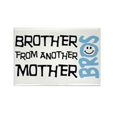 Brother Mother Smile Rectangle Magnet